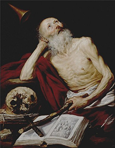 ['Pereda Y Salgado Antonio De Saint Jerome 1643 ' Oil Painting, 24 X 31 Inch / 61 X 78 Cm ,printed On Polyster Canvas ,this High Quality Art Decorative Prints On Canvas Is Perfectly Suitalbe For Wall Art Artwork And Home Decoration And] (King Triton Costume For Kids)