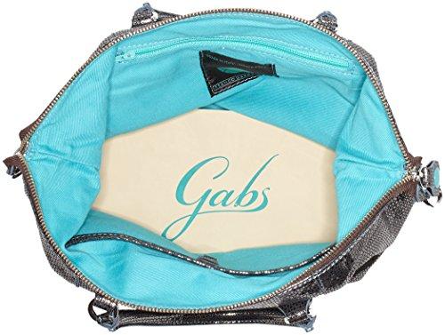 GABS G3 - Bolso de mano Mujer Gris (Lead Grey)