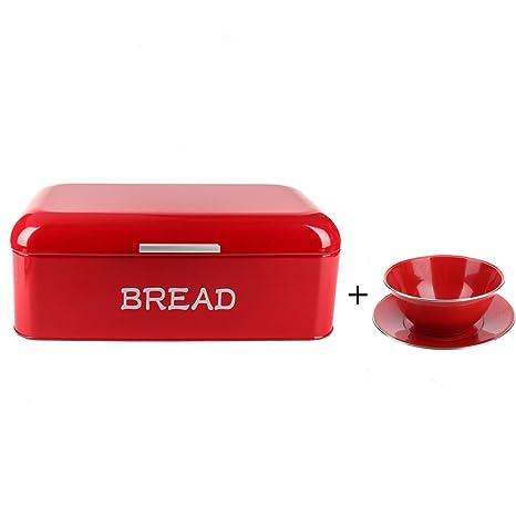 Hot Sale X384 Square Metal Large Vintage Kitchen Storage Tin Canister/Bread  Box/Bin