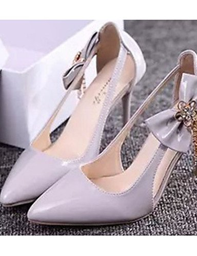 white Tac¨®n 5 5 us7 uk5 us5 Rosa cn35 cn35 ZQ eu36 Casual gray Tacones Tacones Zapatos uk3 mujer gray 5 de Stiletto 5 Blanco us5 Gris eu36 PU cn38 eu38 5 uk3 5 TfnAwtqFfx