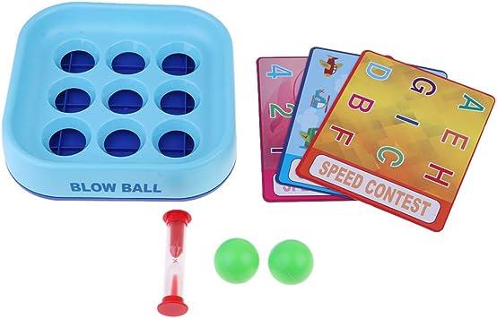 B Blesiya Blow Ball Juegos de Mesa para Niños Rompecabezas de Entrenamiento de Memoria: Amazon.es: Juguetes y juegos