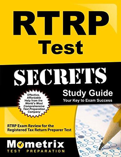 RTRP Test Secrets Study Guide: RTRP Exam Review for the Registered Tax Return Preparer Test (Secrets (Mometrix))