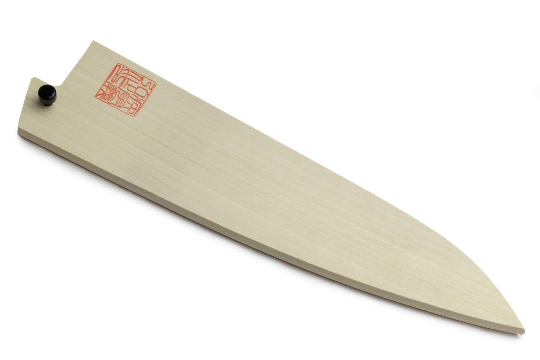 Yoshihiro Natural Magnolia Wood Saya Cover Blade Protector for Gyuto 210mm