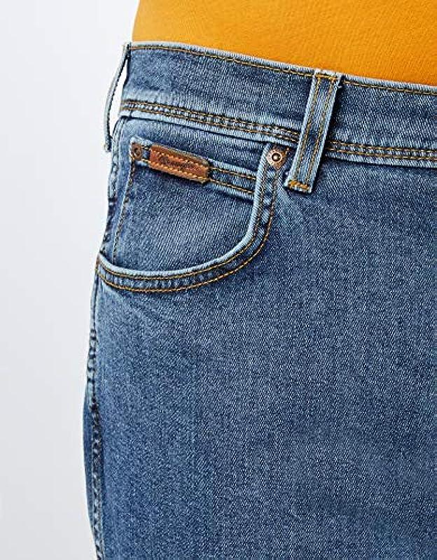 Wrangler Texas Contrast Straight Jeans męskie: Odzież