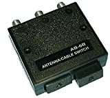 Philmore Deluxe High Isolation 2-Way Coaxial A/B Switch Fully Shielded with Zinc Die Cast Inner Case