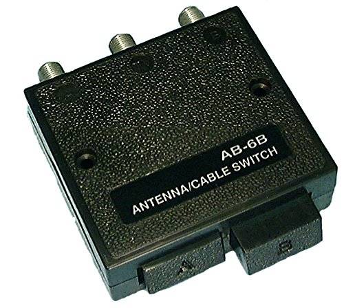 Coaxial Steren - Philmore Deluxe High Isolation 2-Way Coaxial A/B Switch Fully Shielded with Zinc Die Cast Inner Case