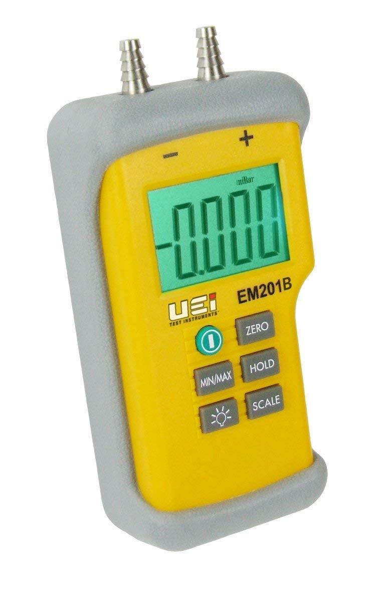 UEI Test Instruments EM201B Test Dual Input Differential Manometer