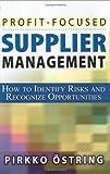 Profit-Focused Supplier Management, Pirkko Östring, 0814471870