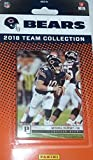 Chicago Bears 2018 Panini Factory Sealed NFL Football Complete Mint 13 Card Team Set with Mitchell Trubisky and Rookie Cards of Anthony Miller and Roquan Smith plus