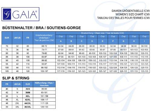 Gaia Mujer Strings GF428 Negro/Blanco