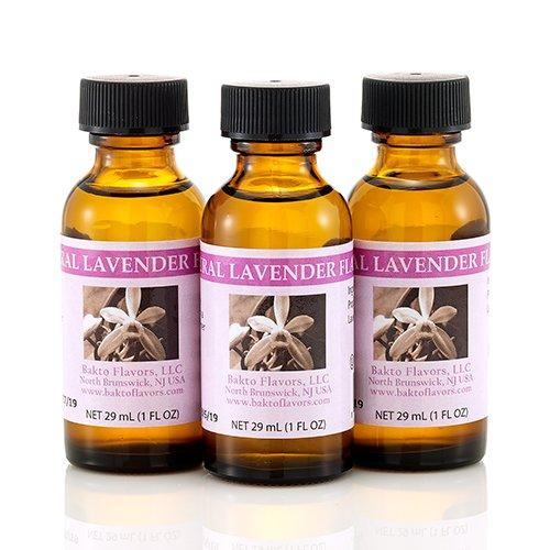 Bakto Flavors Natural Lavender Flavor - 1 FL OZ - Pack of 3