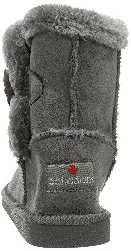 Canadians Damen Boots Schlupfstiefel Grau (250 DK. GREY)