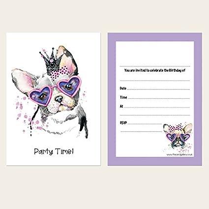 Invitaciones de cumpleaños infantiles – cachorro Princess – Pack ...
