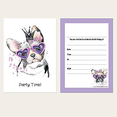 Invitaciones de cumpleaños infantiles - cachorro Princess ...