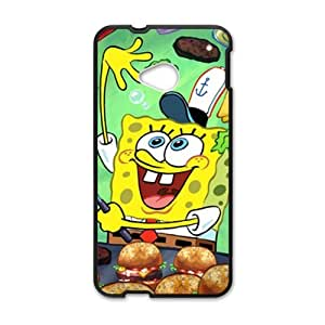 Lovely SpongeBob SquarePants Cell Phone Case for HTC One M7