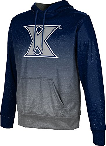 ProSphere Xavier University Men's Hoodie Sweatshirt - Ombre FCF71 - Xavier Fleece Fabric University