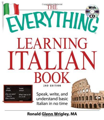 ing Italian Book: Speak, write, and understand basic Italian in no time ()
