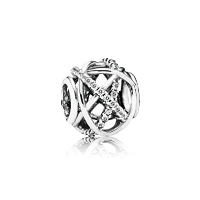 Pandora Women's 9 k Silver Charm QQ8sfdJV2h