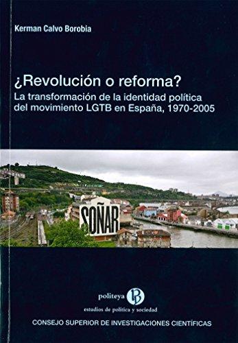 ¿Revolución o reforma? (Politeya. Estudios de Política y Sociedad) por Calvo Borobia, Kerman