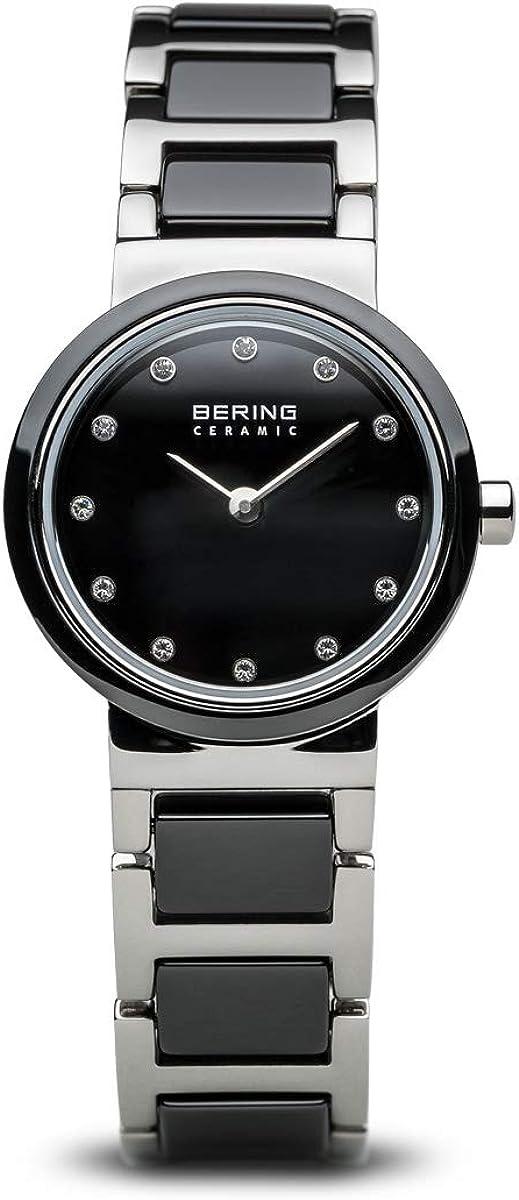 BERING Reloj Analógico para Mujer de Cuarzo con Correa en Acero Inoxidable 10725-742