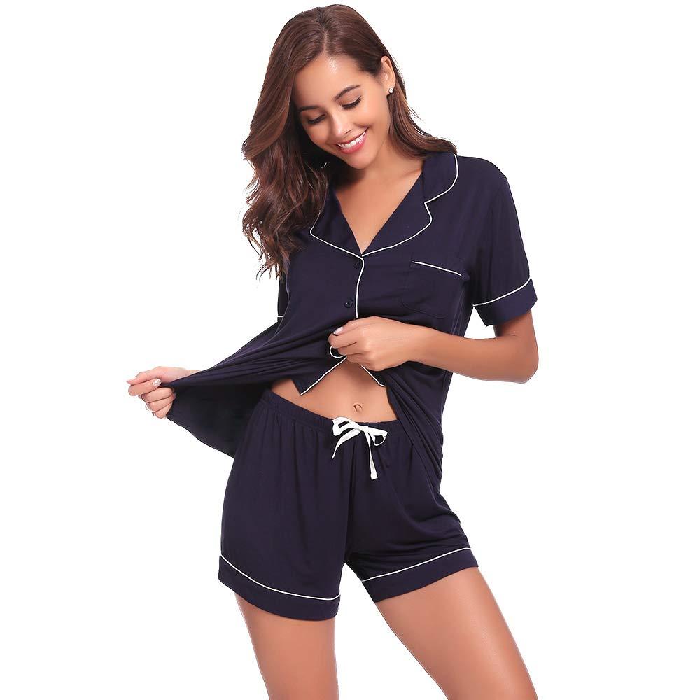 Seaside Sleepwear for Women AMP005 Navyblue S