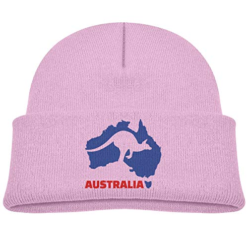 - Australia Kangaroo Baby Boys Warm Beanies Winter Hat Knit Cap Pink