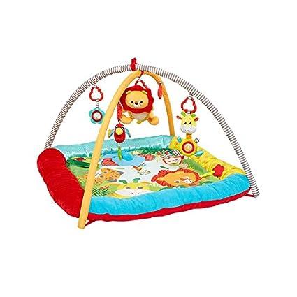 Alfombra de actividades Baby Safari luces y sonidos: Amazon ...
