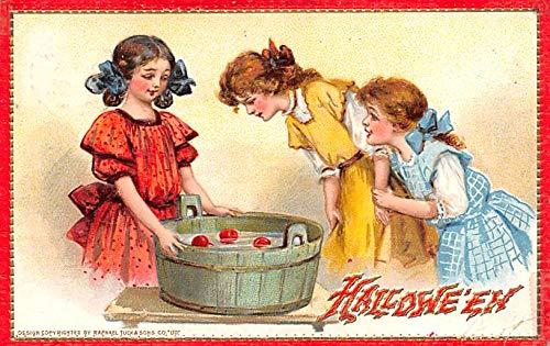 Halloween Post Card Old Vintage Antique Raphael Tuck Publishing 1911