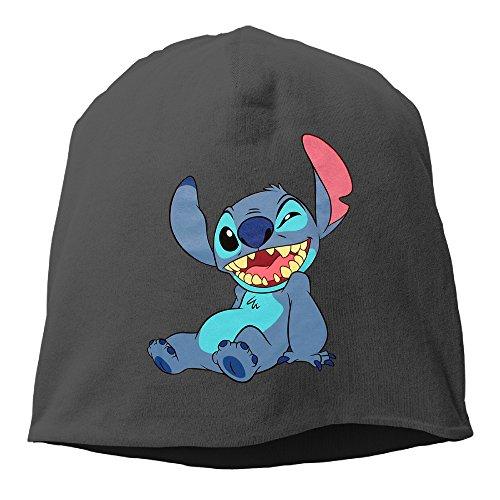 Lilo And Stitch Wink Beanie Hat Knit Slouchy Hat Toboggan Winter Hat