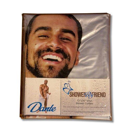 Shower Boyfriend Vinyl Dante Nude Man Shower Curtain With -8506