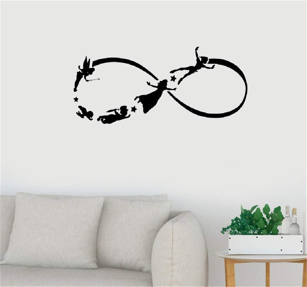 pegatina de pared pegatina de pared etiqueta de la pared Peter Pan ...