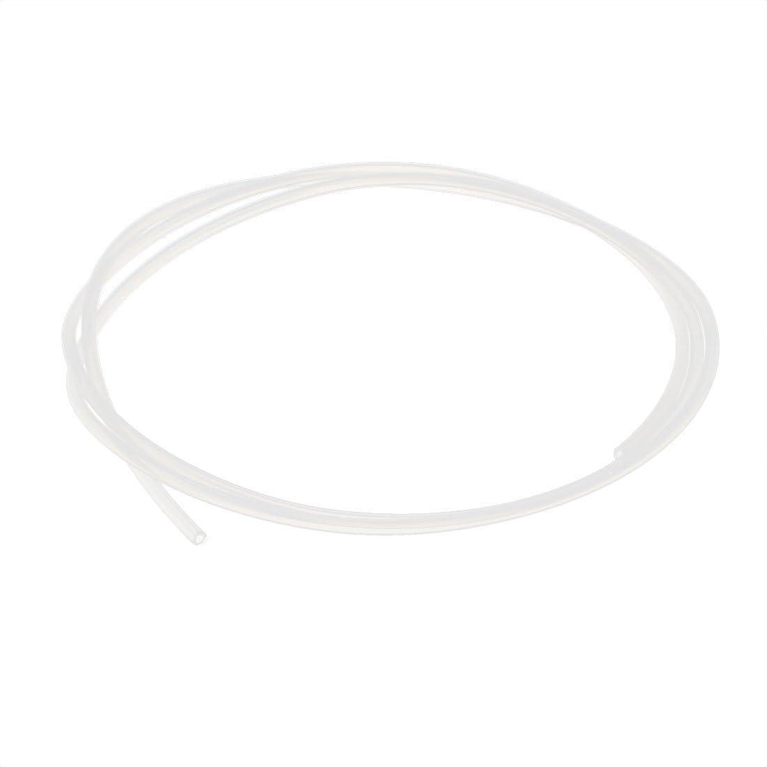sourcingmap/® 3mm x 5mm tube PTFE Tube Tube 2 m/ètres 6,56ft pour RepRap imprimante 3D