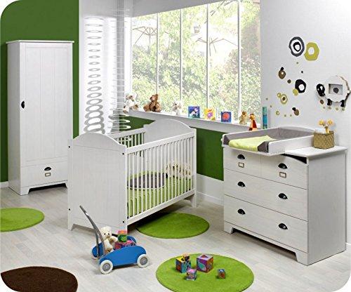 Babyzimmer komplett Charme weiß