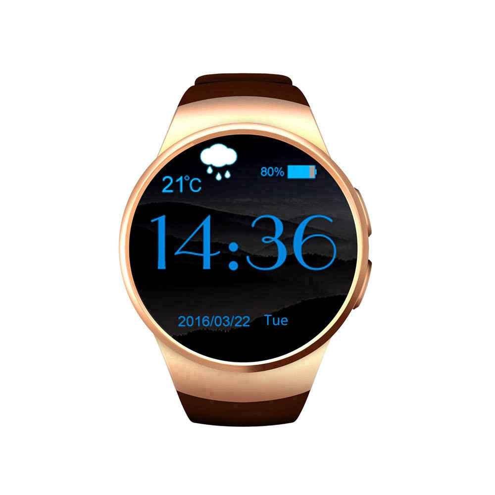 Smartwatch Reloj Teléfono Móvil, fitness sporthur, SMS Facebook ...