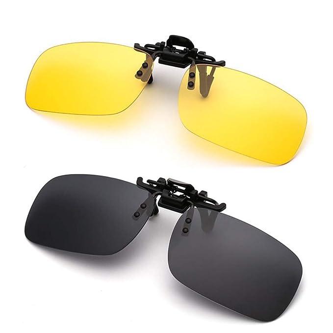 Amazon.com: Simida - Gafas de sol polarizadas con clip y ...