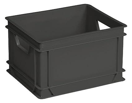ALLIBERT Boîte de rangement Lux - Gris - 30 L: Amazon.es: Hogar