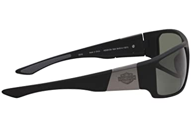 ec20358db69 Sunglasses Harley Davidson HD 912 X HD 0912 X 02A matte black   smoke at  Amazon Men s Clothing store
