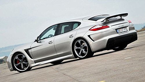 Amazon.com: Porsche Panamera TechArt Grand GT Style Spoiler Wing with Carbon Fiber Blade: Automotive