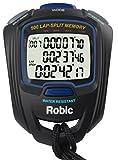 Robic SC-757W 500 Dual Memory Stopwatch, Black/Blue