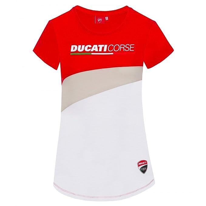 Pritelli 1836004//XXL Ducati Rennen Moto GP Racing Shirt Logo Offizielle 2018 Schwarz