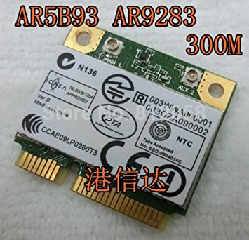 ATHEROS AR9283 DRIVER DOWNLOAD (2019)