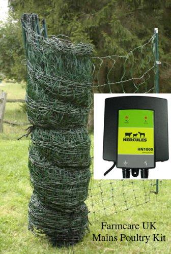 Farm Care Poultry net 25 meter 240v kit