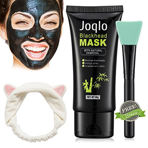Joqlo Blackhead Remover Mask,60g Charcoal Deep Cleansing Pee