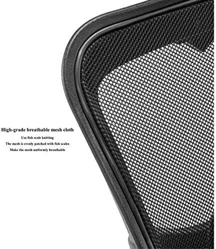 Enkel nätmaska kontorsstol – vilstol spelstol hjul-justerbar 360 ° rotation knästol