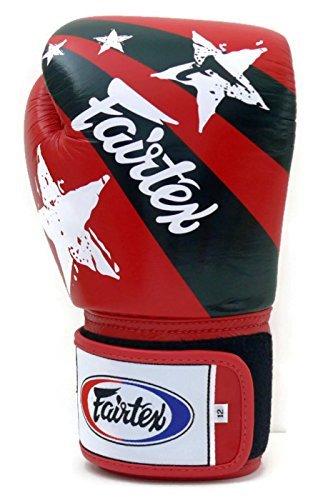 Muay Print Gants Boxe Nation D'entraînement Sac Frappe Style Kickboxing Fairtex Red De Thai tOnqf