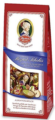 Reber Constanze Mozart Schokis pistachio marzipan & Edel Nougat 100g ()