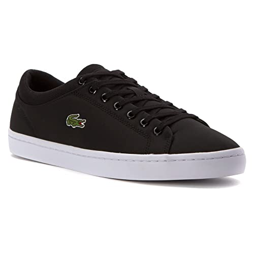 571f27ea67741 Lacoste Men s Straightset SPT 216 1 Black 10.5 M  Buy Online at Low ...