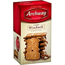 Archway Crispy Windmill Cookies, 9 Ounce (Pack of 9)