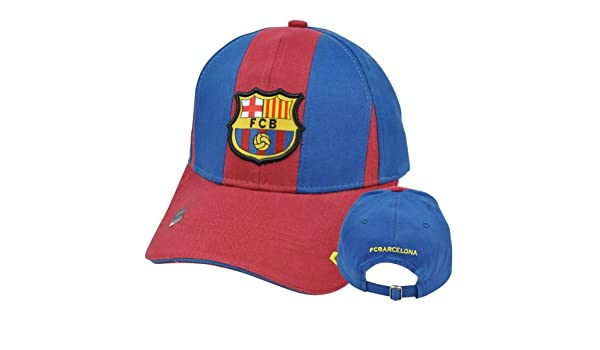 Amazon.com : Rhinox Soccer Spain Espana C1E06 Barcelona Gorra Shield FCB Barca Panels Hat Cap : Sports Fan Baseball Caps : Sports & Outdoors