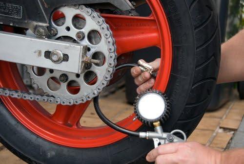 Druckluft Reifenf/üller und Reifendruck-Messger/ät 60D